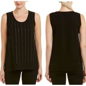 Lafayette 148 tank top Jules Sequin sleeveless